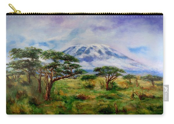 Mount Kilimanjaro Tanzania Carry-all Pouch