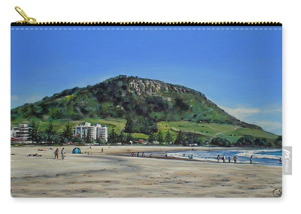 Mount Maunganui Beach 151209 Carry-all Pouch