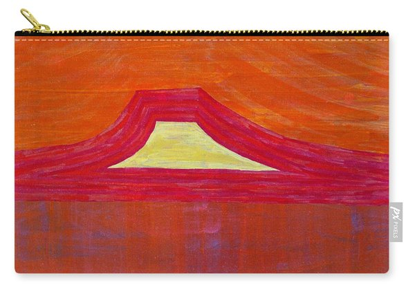 Mount Pedernal Original Painting Carry-all Pouch