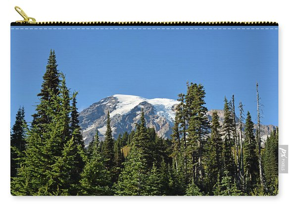 Mount Rainier Evergreens Carry-all Pouch