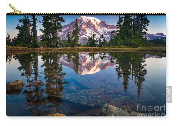 Mount Rainier Tarn Carry-all Pouch