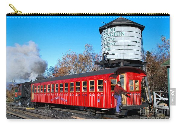 Mount Washington Cog Railway Car 6 Carry-all Pouch