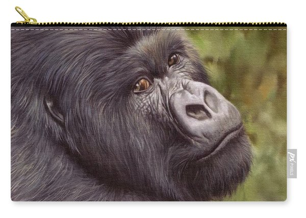 Mountain Gorilla Painting Carry-all Pouch