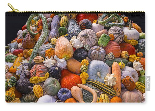 Mountain Of Gourds And Pumpkins Carry-all Pouch