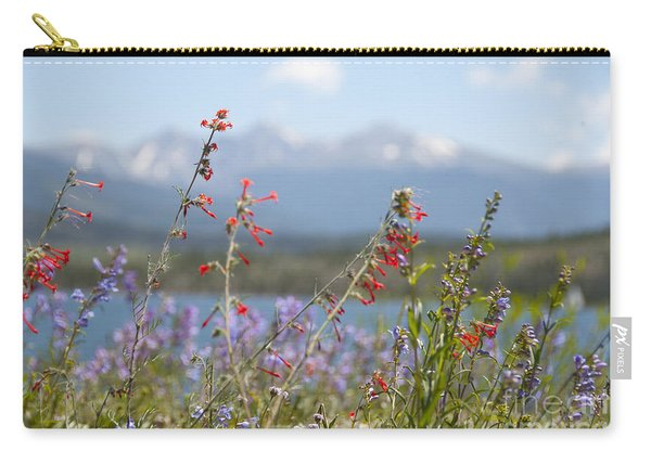 Mountain Wildflowers Carry-all Pouch