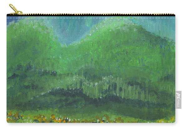 Mountains At Night Carry-all Pouch