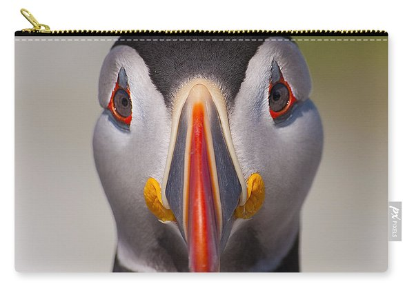 Mr. Puffin.. Carry-all Pouch
