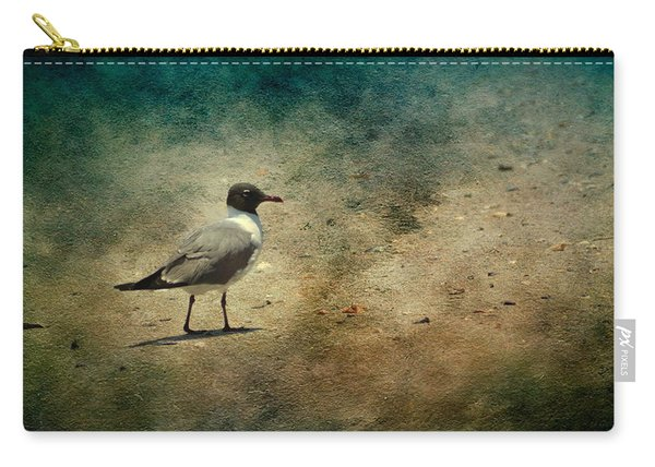 Carry-all Pouch featuring the photograph Mr. Seagull by Michael Colgate