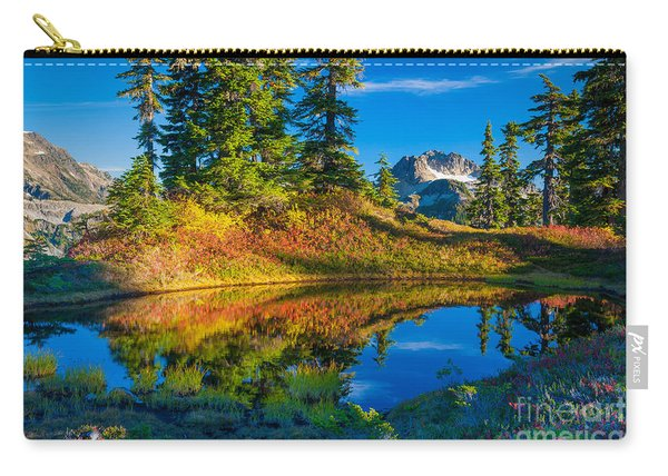 Mt Baker Tarn In Fall Carry-all Pouch