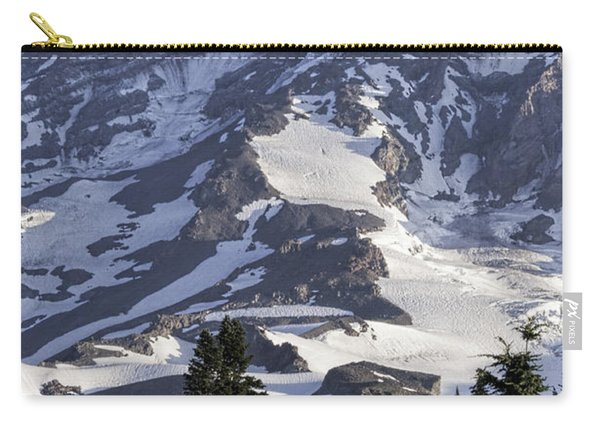 Mt Rainier Portrait Carry-all Pouch