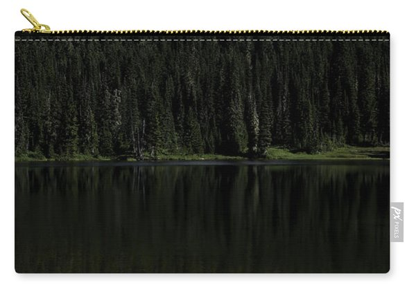 Mt Rainier Reflected In Reflection Lake Carry-all Pouch