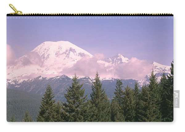Mt Ranier Mt Ranier National Park Wa Carry-all Pouch