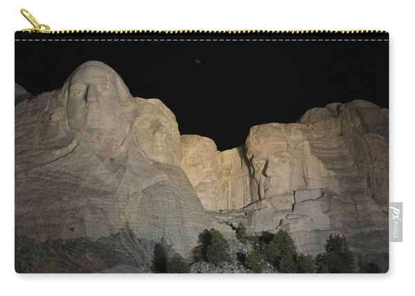 Mt. Rushmore At Night Carry-all Pouch