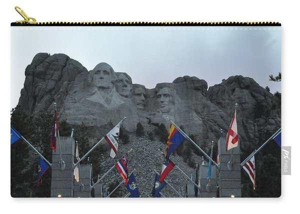 Mt. Rushmore In The Evening Carry-all Pouch