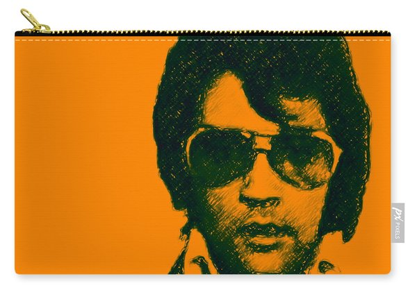 Mugshot Elvis Presley Square Carry-all Pouch