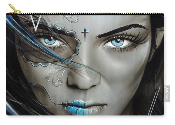 Mujeres De Ojos Azules Carry-all Pouch