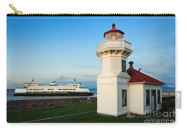 Mukilteo Ferry And Lighthouse Carry-all Pouch