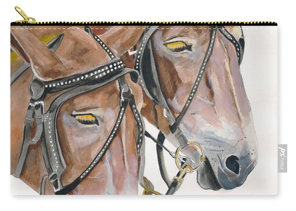 Mules - Two - Beast Of Burden Carry-all Pouch