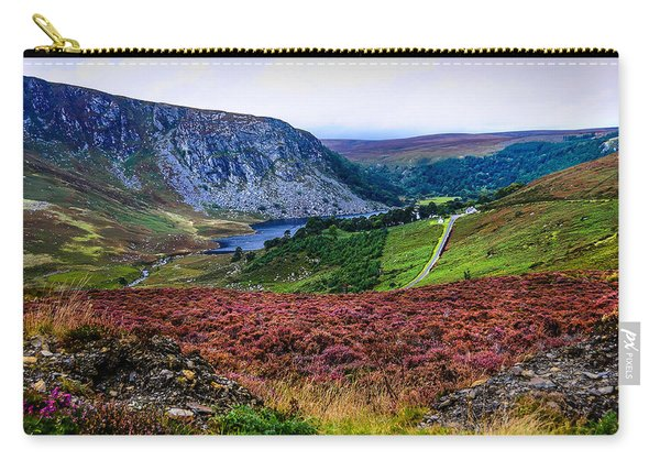 Multicolored Carpet Of Wicklow Hills. Ireland Carry-all Pouch