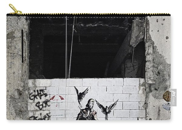 Mural In Beirut  Carry-all Pouch