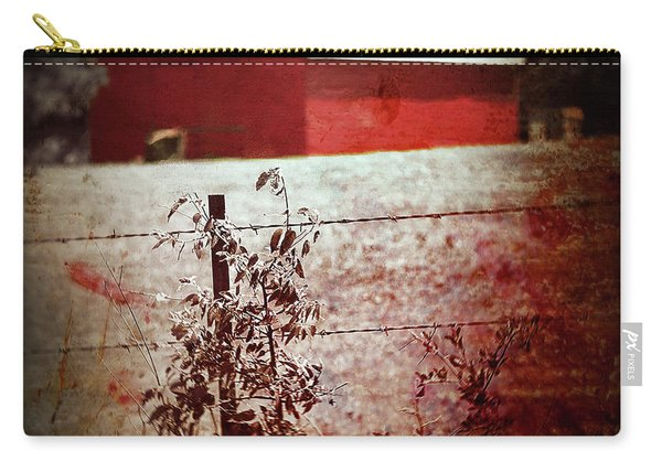 Murder In The Red Barn Carry-all Pouch