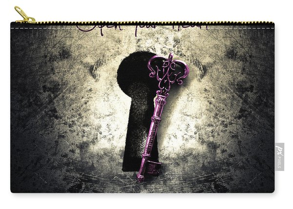 Music Gives Back - Open Your Heart Carry-all Pouch