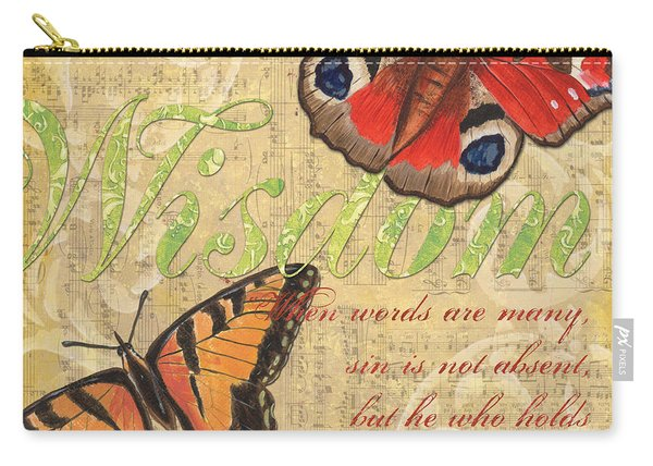 Musical Butterflies 4 Carry-all Pouch