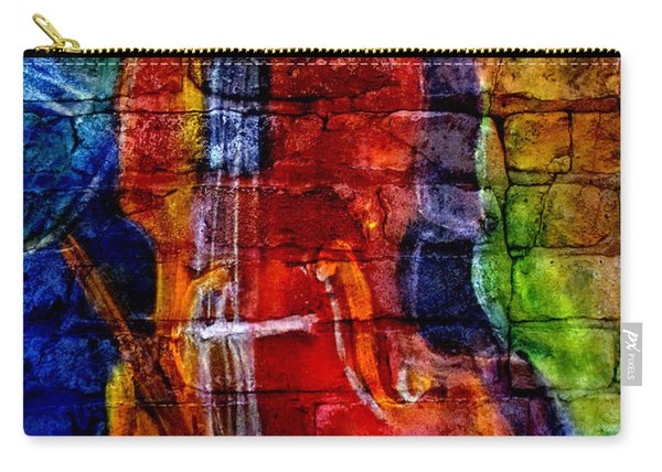Musician Bass And Brick Carry-all Pouch