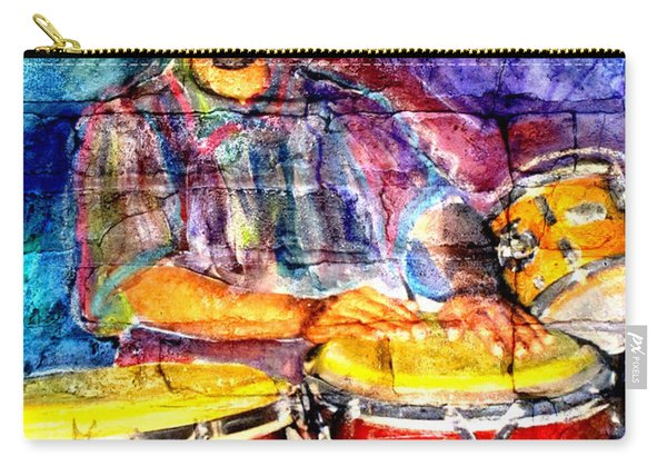 Musician Congas And Brick Carry-all Pouch