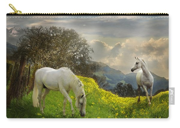 Mustard Reunion Carry-all Pouch