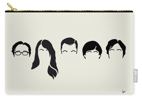 My-big-bang-hair-theory Carry-all Pouch