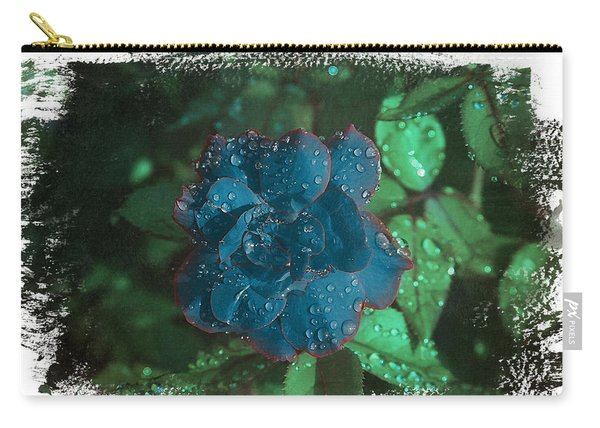 My Blue Rose Carry-all Pouch