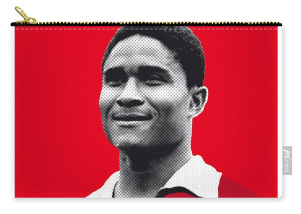 My Eusebio Soccer Legend Poster Carry-all Pouch