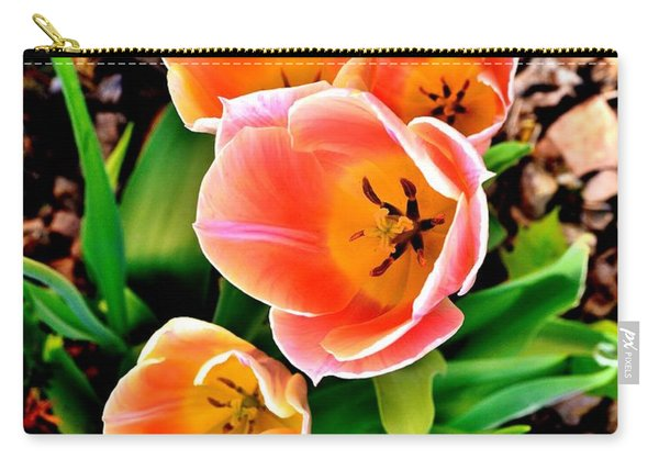 My Mom's Tulips Carry-all Pouch