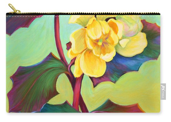 Carry-all Pouch featuring the painting My Oregon Grape by Sandi Whetzel