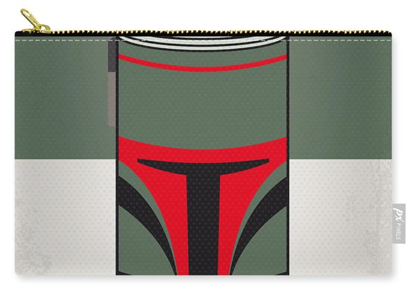 My Star Warhols Boba Fett Minimal Can Poster Carry-all Pouch