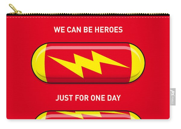 My Superhero Pills - The Flash Carry-all Pouch