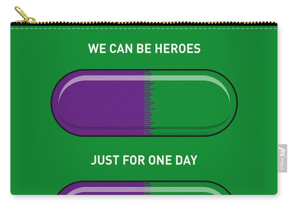 My Superhero Pills - The Hulk Carry-all Pouch
