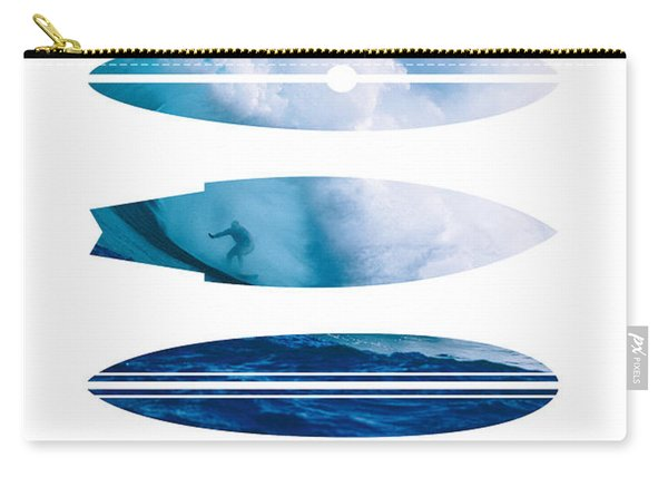 My Surfspots Poster-1-jaws-maui Carry-all Pouch