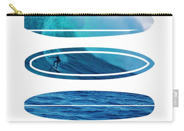 My Surfspots Poster-2-mavericks-california Carry-all Pouch