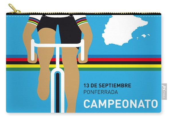 My Uci Road World Championships Minimal Poster 2014 Carry-all Pouch