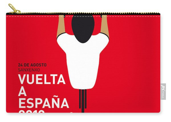 My Vuelta A Espana Minimal Poster - 2013 Carry-all Pouch
