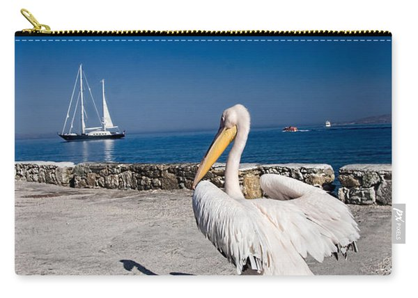Mykonos Pelican Carry-all Pouch