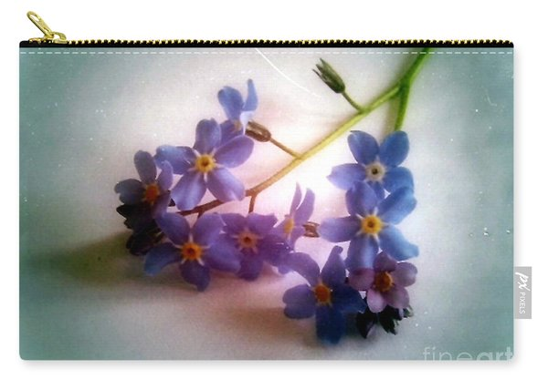 Myosotis  Forget Me Not Carry-all Pouch
