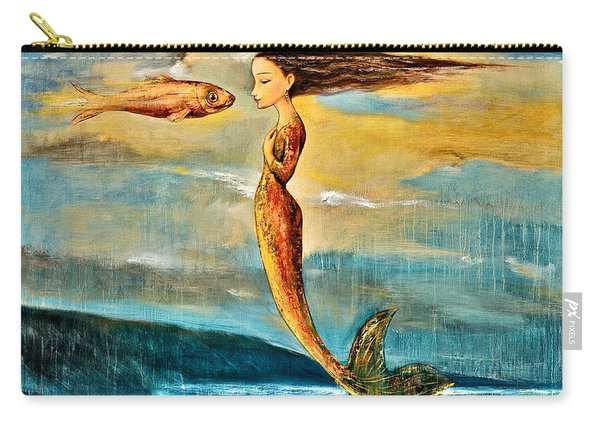 Mystic Mermaid IIi Carry-all Pouch
