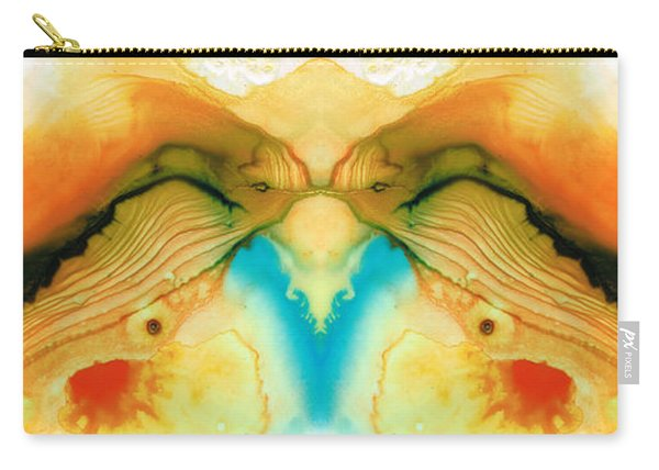 Namaste - Divine Art By Sharon Cummings Carry-all Pouch