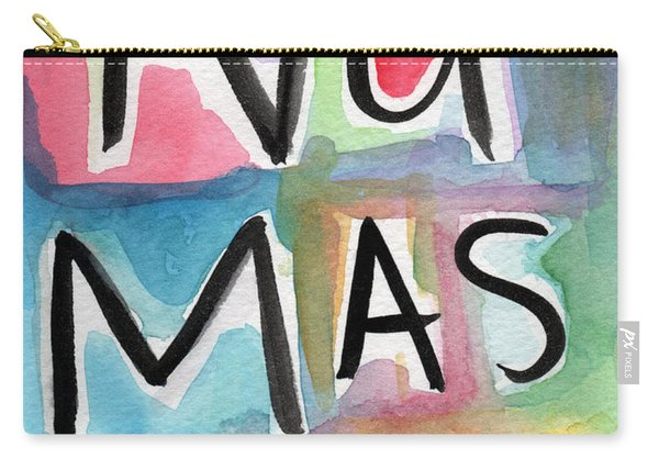 Namaste Watercolor Carry-all Pouch