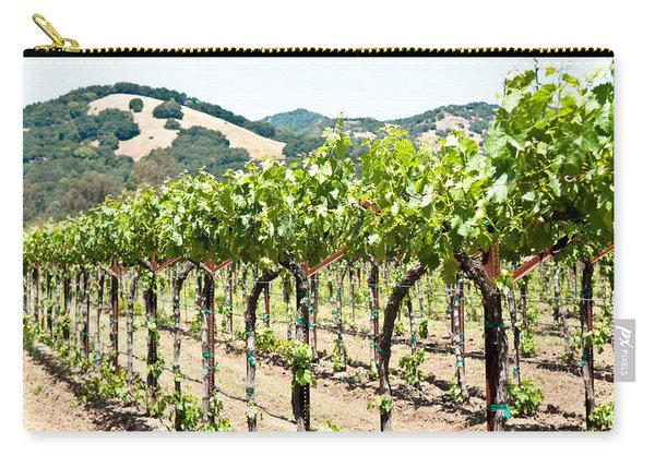 Napa Vineyard Grapes Carry-all Pouch