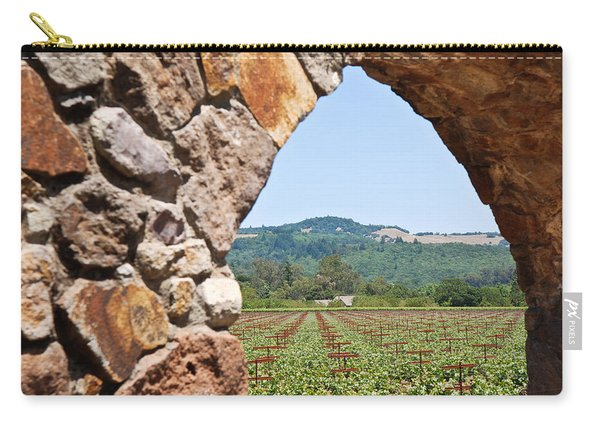 Napa Vineyard Carry-all Pouch