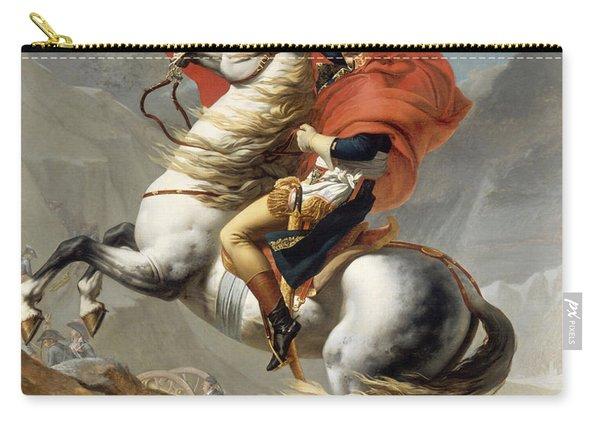 Napoleon Bonaparte On Horseback Carry-all Pouch